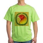 Wreath Gamecock Green T-Shirt
