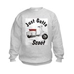 Just Gotta Scoot Lambretta Kids Sweatshirt