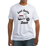 Just Gotta Scoot Lambretta Fitted T-Shirt