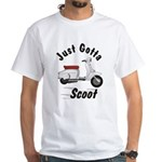 Just Gotta Scoot Lambretta White T-Shirt