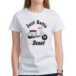 Just Gotta Scoot Lambretta Women's T-Shirt
