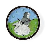 Opal English Trumpeter Wall Clock