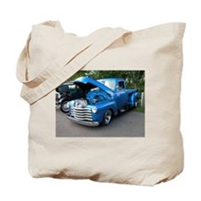 Old Chevy Truck Tote Bag