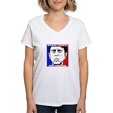 Pro Bobby Jindal Liberty Women's V-Neck (White)