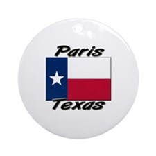 Paris Texas Ornament (Round)
