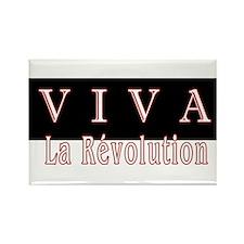 VIVA La Revolution - Rectangle Magnet