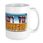 The West Wasn't Won Large Mug