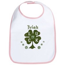Irish Four Leaf Clover Bib
