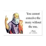 Plato 7 Mini Poster Print