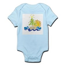 Island Holiday Infant Creeper