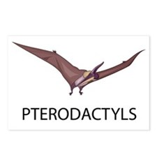 Pterodactyls Postcards (Package of 8)