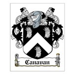 Canavan Coat of Arms Small Poster