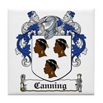 Canning Coat of Arms Tile Coaster
