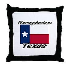 Nacogdoches Texas Throw Pillow
