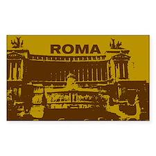 Stickers! Roma - vitorriano - gold (Rectangular)