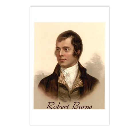 Robert Burns Portrait Postcards (Package of 8)