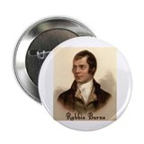 "Rabbie Burns Portrait 2.25"" Button (10 pack)"