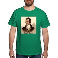 Rabbie Burns Portrait T-Shirt