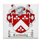 Carmody Coat of Arms Tile Coaster
