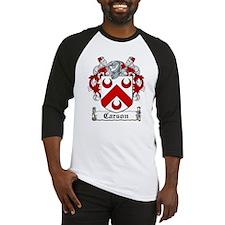 Carson Coat of Arms Baseball Jersey
