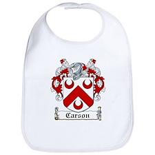 Carson Coat of Arms Bib