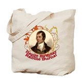 Happy Birthday Rabbie Burns Tote Bag