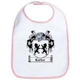Carter Coat of Arms Bib