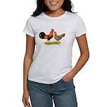 Leghorns Rooster & Hen Women's T-Shirt