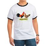 Leghorns Rooster & Hen Ringer T