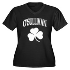 O'Sullivan Irish Women's Plus Size V-Neck Dark T-S