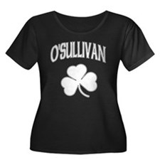 O'Sullivan Irish Women's Plus Size Scoop Neck Dark