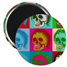 "The death of pop art 2.25"" Magnet (10 pack)"