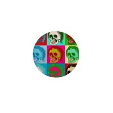 The death of pop art Mini Button