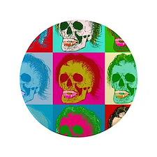 "The death of pop art 3.5"" Button"