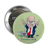 "Trickier Dick Cheney/Nixon 2.25"" Button (10 pack)"