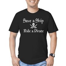 Save a Ship - Ride a Pirate T