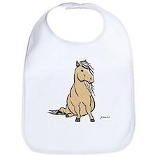 Palomino Pony Bib