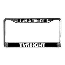 I am a fan of twilight License Plate Frame