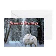 Wolf Christmas Cards (Pk of 10)