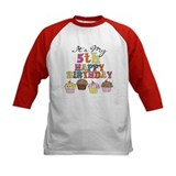 Cupcakes 5th Birthday Tee