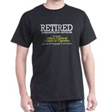 Retired Corrections T-Shirt