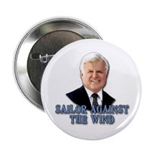 "Ted Kennedy Sailor Against the Wind 2.25"" Button ("