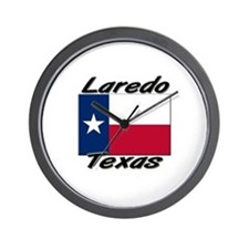 Laredo Texas Wall Clock