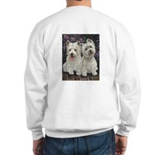 Best Friends Grey Sweatshirt Back Design