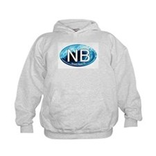 NB Newport Beach Wave Oval Hoodie