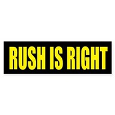 Rush is Right Bumper Sticker (50 pk)