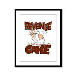 Revenge Cake Framed Panel Print