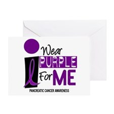 I Wear Purple For Me 9 PC Greeting Card