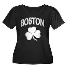Boston Irish Shamrock T