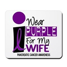 I Wear Purple For My Wife 9 PC Mousepad